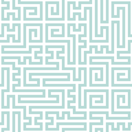 garniture: Abstract geometric simple pattern by light blue lines. Seamless background. Ethnic texture Illustration