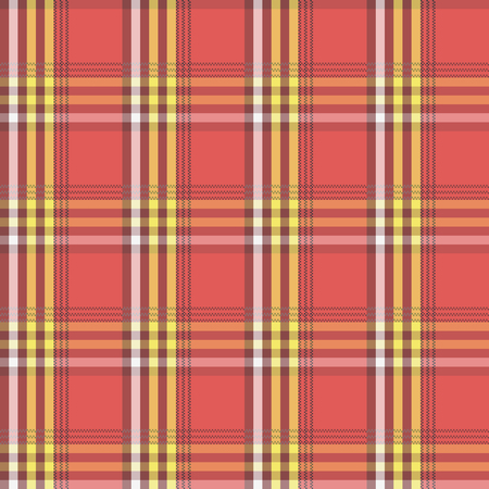 red plaid: Square pattern. Vintage red plaid seamless simple background.