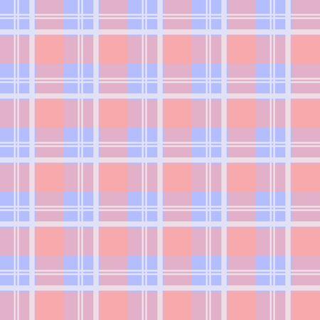 checkered pattern: Fabric tissue checkered pattern. Warm british plaid ornament. Tartan background Illustration