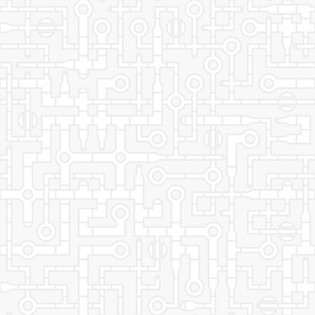 curved: Industrial technological abstract background - pipeline gray pattern.