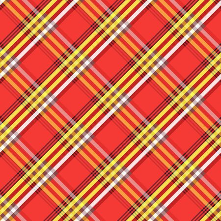 2d wallpaper: Fabric with diagonal lines checkered pattern. Repeat tribal  stripes texture background. Illustration