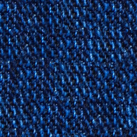 revealing: Seamless, illustrated image tile depicting blue denim in extreme closeup, revealing individual thread loops.