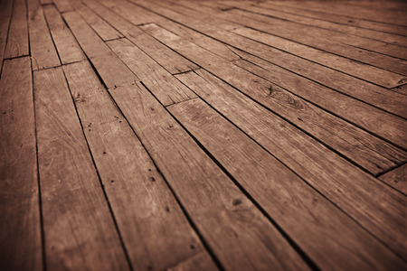 floorboards: Abstract grunge photographic background - diagonal old wooden floor boards