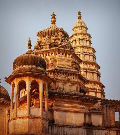 Famous Sri Raghunath Swamy temple in Pushkar, Rajasthan, India Stock Photo