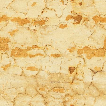 Peeling gelbe Wand. Nahtloses Muster. Hintergrund Standard-Bild - 87233059