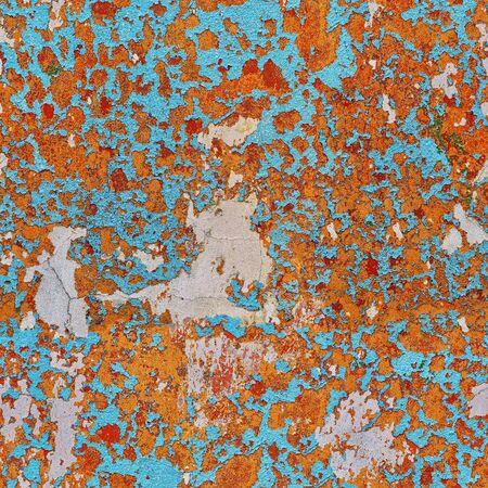Alte Mauer mit abblätternde Farbe. Nahtloses Muster Standard-Bild - 87233060