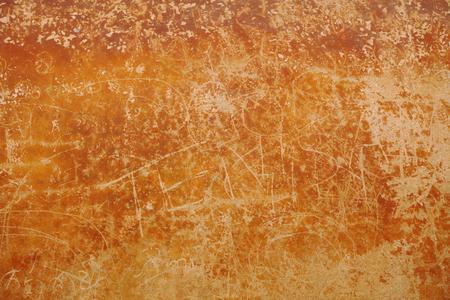 Alte Mauer mit Graffiti und Lack. Schmutzbeschaffenheit Standard-Bild - 86805130