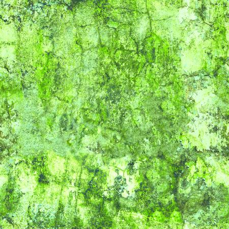 Alte Mauer in der grünen Form. Nahtloses Muster Standard-Bild - 87325533