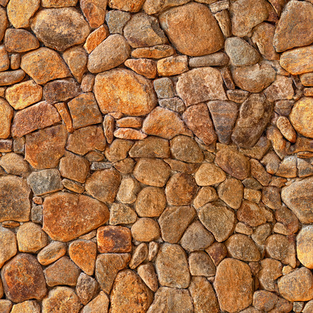 Old brown bricks. Wall pattern background Stock Photo