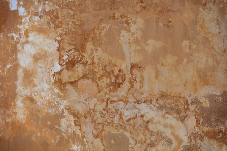 Beige wall with mold - background. Grunge texture
