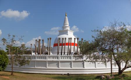 Sri Lanka, Anuradhapura - Thuparama stupa Standard-Bild