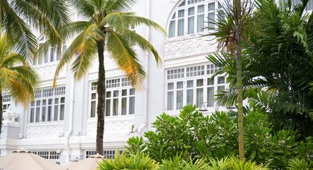 Altes Hotel in Malaysia im Kolonialstil Standard-Bild - 90534915