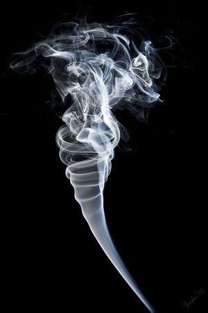 Smoke Tornado Banco de Imagens - 3706441