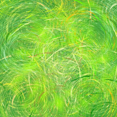 smirch: Abstraction in green tones