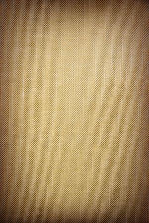 ベージュの大まかなファブリックの構造 写真素材