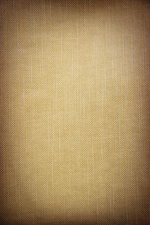 Structure of a beige rough fabric photo