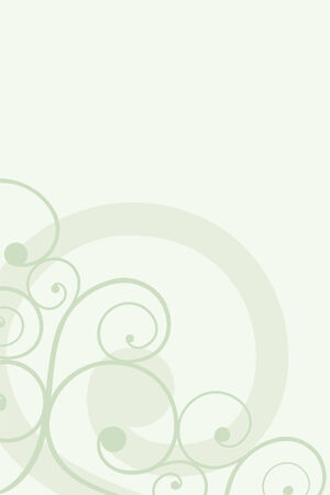 Vector green background with a florid pattern Stock Vector - 5927402