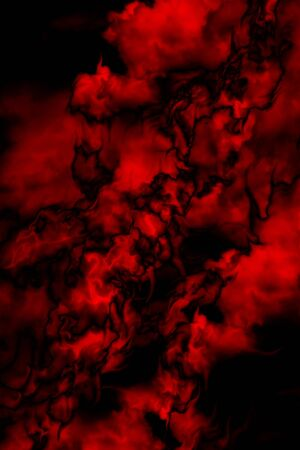 red sheet: abstract black and red background for the design