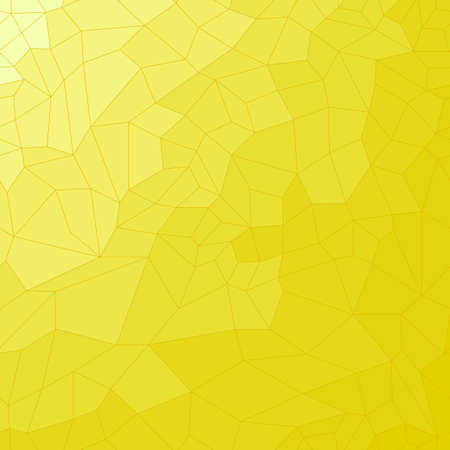 Vector illustration. Yellow mosaic tile background. abstraction Vector