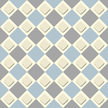 Vector seamless checkered background. A simple illustration for design