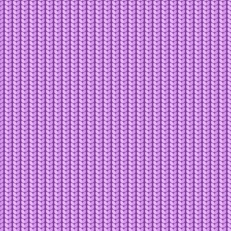 Vector illustration  Seamless background  Knitted magenta surface Vector
