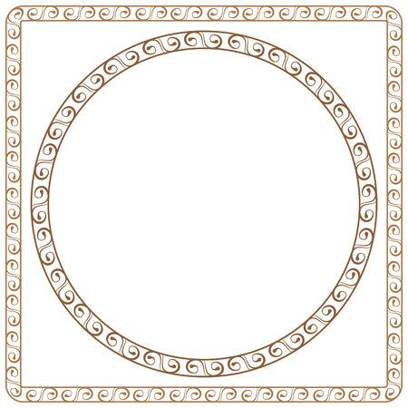 simple vector ornamental frames. Element for graphic design Vector