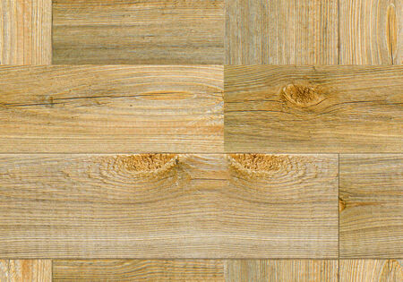 emit: background of rough planks. Emit light wood seamless parquet Stock Photo