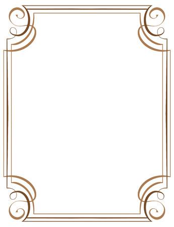 vector vertical frame. Element for graphic design
