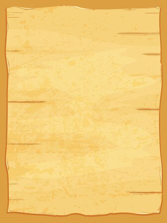 dirty sheet: Vector yellow crumpled papyrus paper. Old dirty sheet