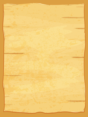 dirty sheet: yellow crumpled papyrus paper. Old dirty sheet