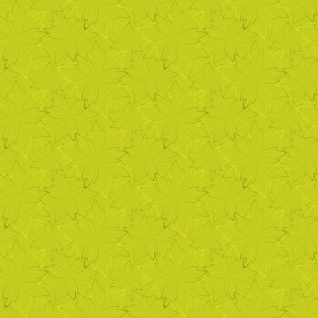 chaotic: yellow seamless wallpaper with floral pattern chaotic