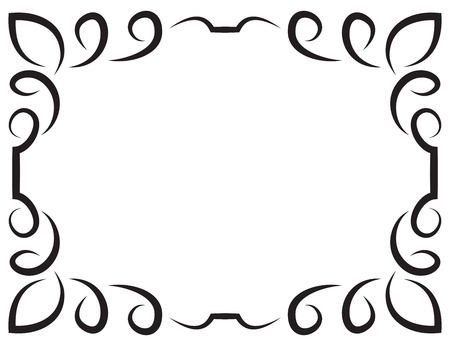 Framework: Vector of beautiful elegant framework for design Illustration