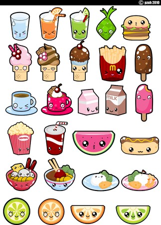 Food Collection set icons