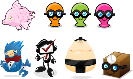 Cute Mascot Collection