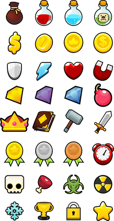 rpg fantasy game icon pack