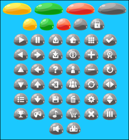 jelly game button pack