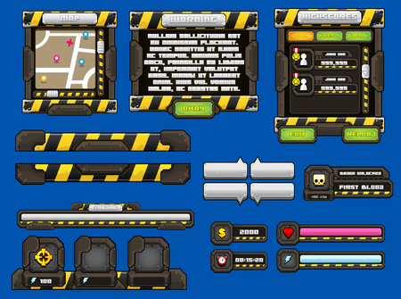 urban rumble game interface pack