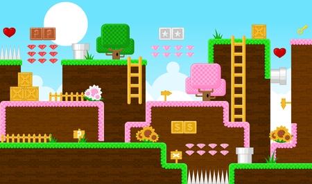 Fantasy Island Game World Tileset