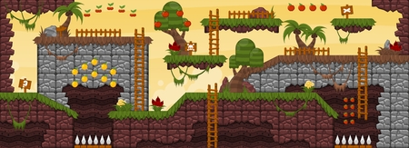 Jungle Game World 스톡 콘텐츠 - 107336494
