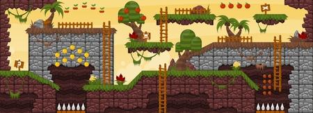 Mundo de juego de la jungla