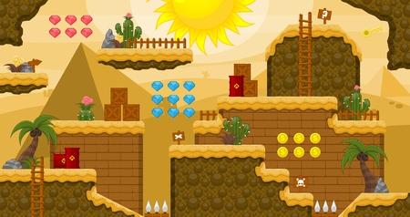Desert Game World Tileset