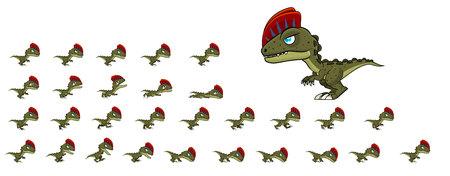 Dinosaur Game Sprites