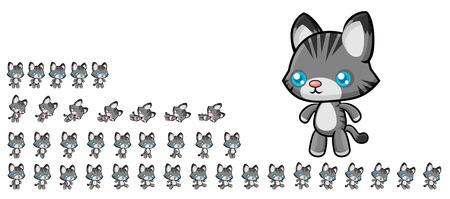 Cat Game Sprites