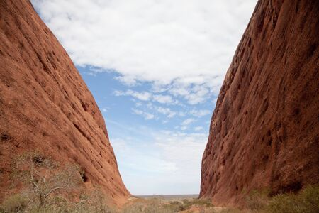 kata: Kata Tjuta - Ayers Rock. Stock Photo