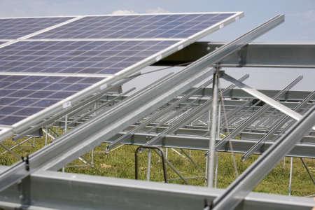 powerplant: Solar power plant in construction.