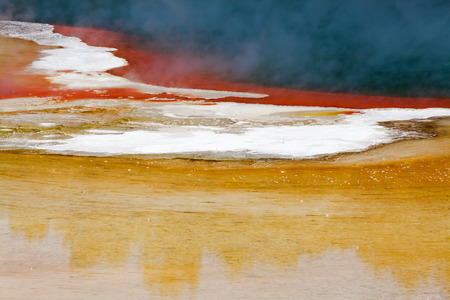 hydrothermal: Artist s Palate in Wai-O-Tapu Geothermal Wonderland, Rotorua, New Zealand.