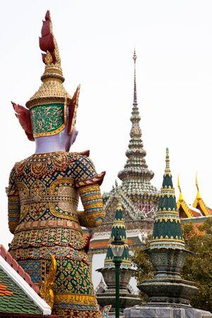kaew: Grand Palace, Wat Phra Kaew, Bangkok.
