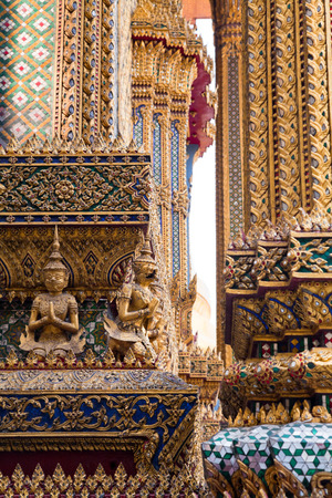 the grand palace: Grand Palace, Wat Phra Kaew, Bangkok.