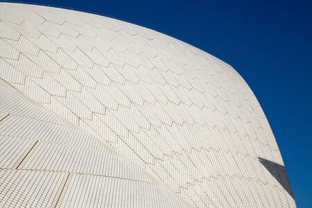 jorn: SYDNEY - FEBRUARY 8, 2013: Roof of The Sydney Opera House in Sydney, Australia on February 8, 2013. Designed by Danish architect Jorn Utzon; this year is celebrating the 40th opening anniversary.