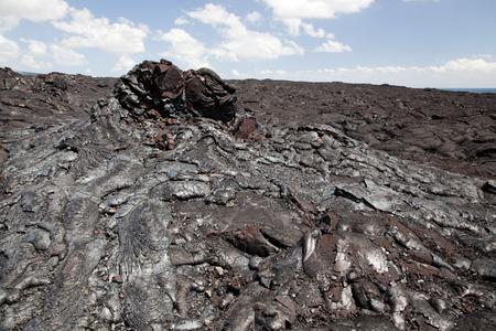 lava field: Lava field, Big Island, Hawaii Stock Photo